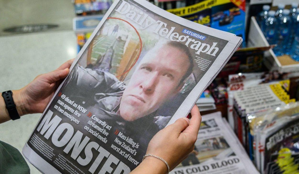 Afbeelding van Nieuw-Zeelandse media maken afspraak: 'beperk aandacht voor extremisten'